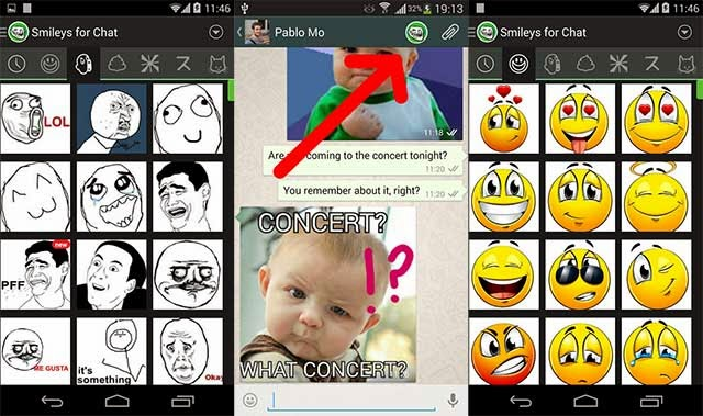 Add Handwriting Text and Photo Stickers on WhatsApp