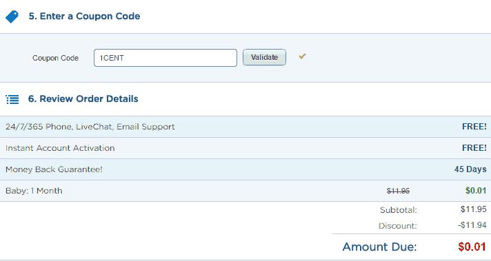 discount coupon hostgator