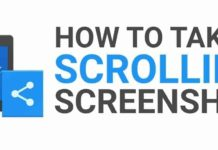 How To Take Scrolling Screenshot in Android and iOS