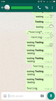Easy Ways to Change Variations and Change Font in Whatsapp