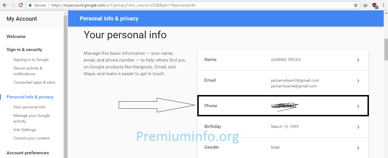 Tricks to Create Many Gmail Account Without Mobile Number