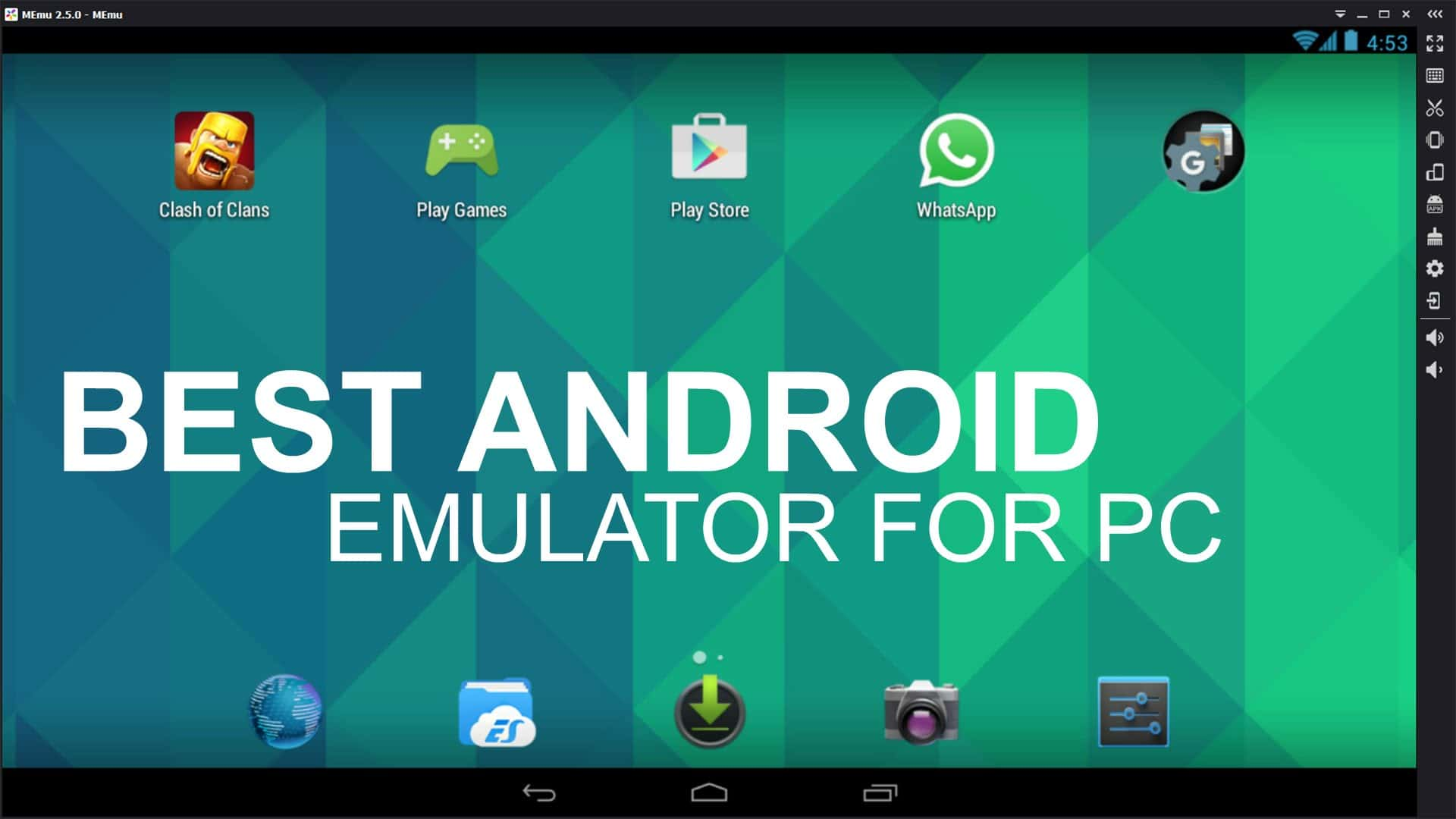 how to emulate android phone on pc
