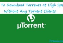 how to download torrents at high speed