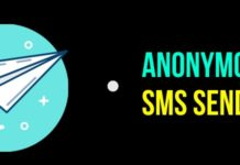 How To Send Anonymous SMS To Anyone With Spoofed Number