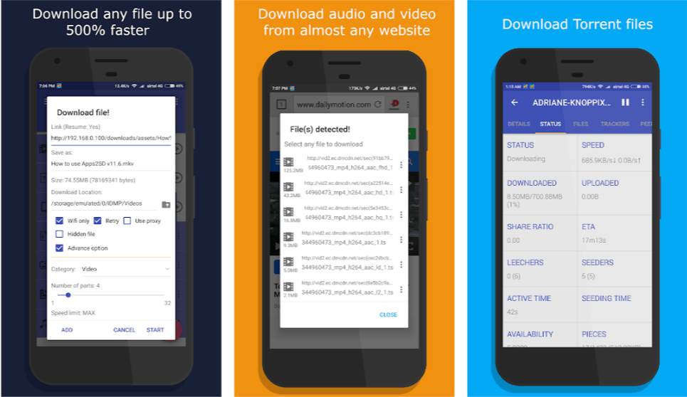 idm download manager for android