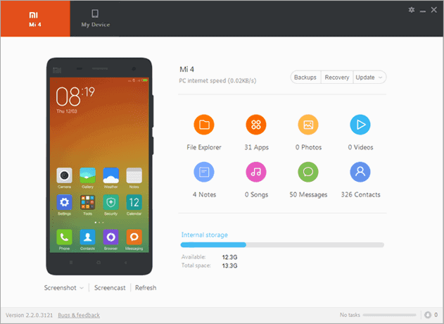 Download Mi PC Suite For Windows and Mac Os