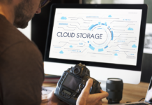 cloud storage concept art
