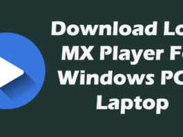 Download MX Player For PC/Laptop Windows 7/8/8 1/10