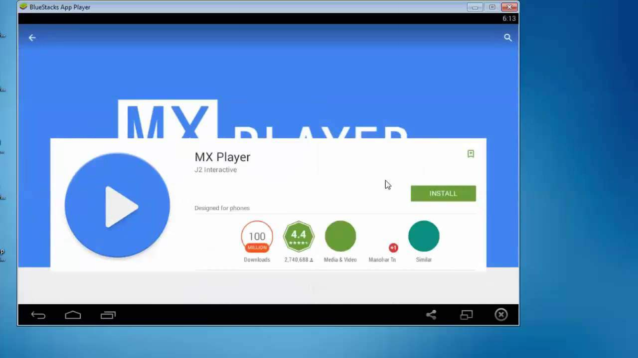 mx player app download for pc