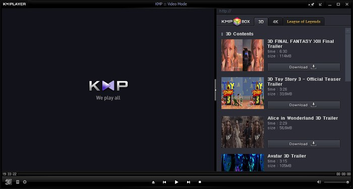kmp player on windows