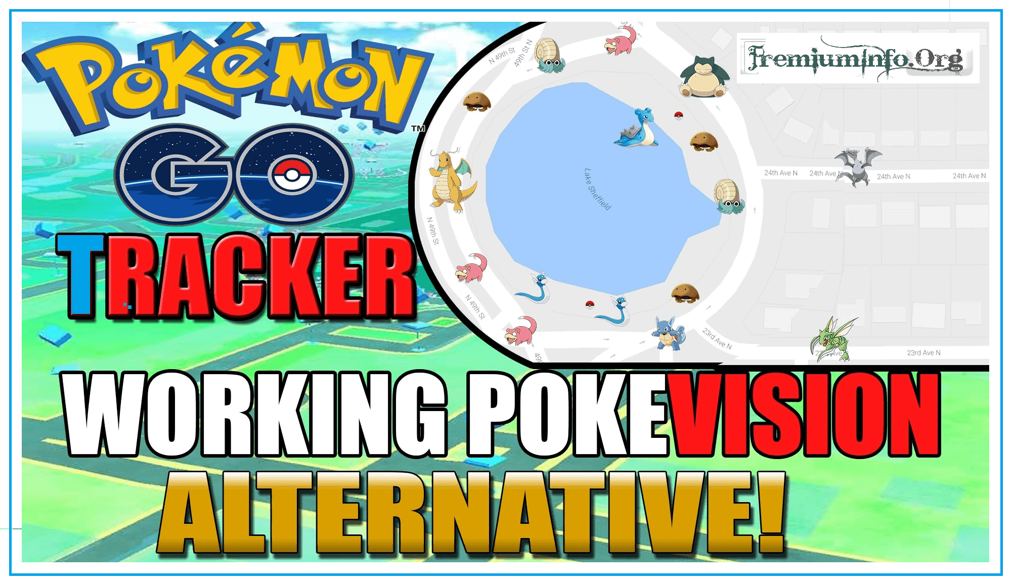 Top 10 Best PokeVision Alternatives! - PremiumInfo