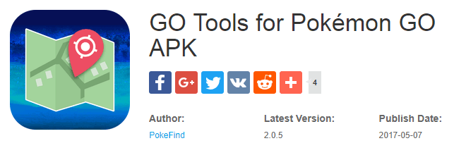 Go Tools for Pokemon Go