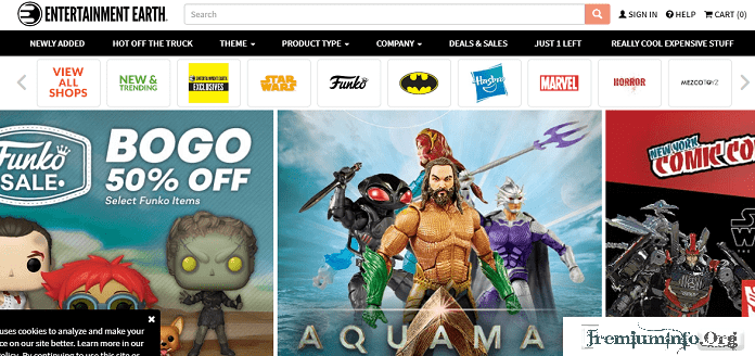 Entertainment Earth Alternative site like thinkgreek