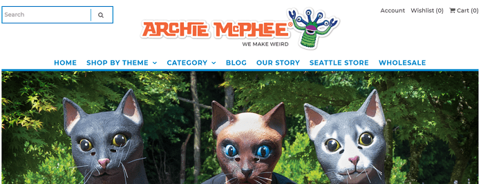 archie mcphee Alternative site like thinkgreek