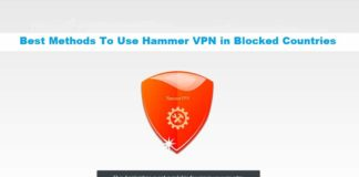 use hammer vpn in blocked cocuntries