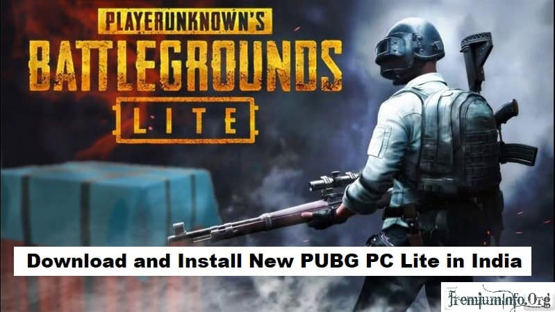 Install Pubg PC Lite in India