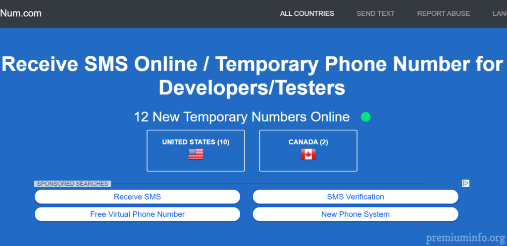 Top 5 Free Virtual Phone Number for SMS and OTP Verification 2019
