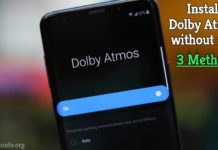 install dolby atmos without root