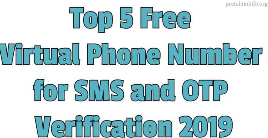 5 free virtual number for otp bypass