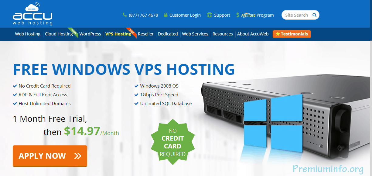 New Free VPS Trial 2019 Windows And Linux (Updated) - PremiumInfo