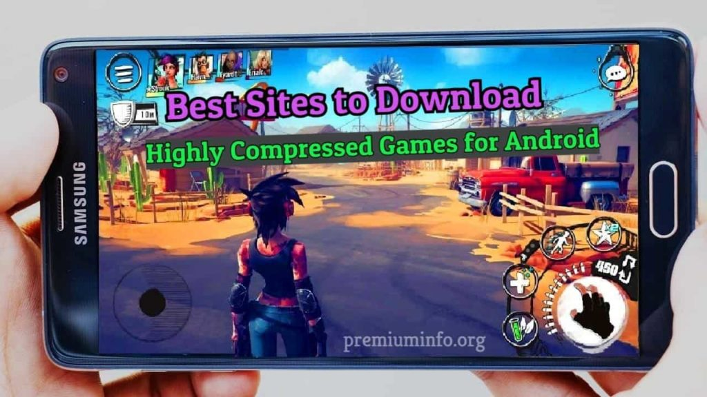 best sties for android highly compressed games