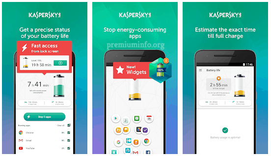 kaspersky battery saver