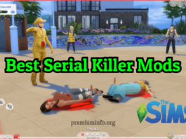 coolest serial killer mod for sims 4