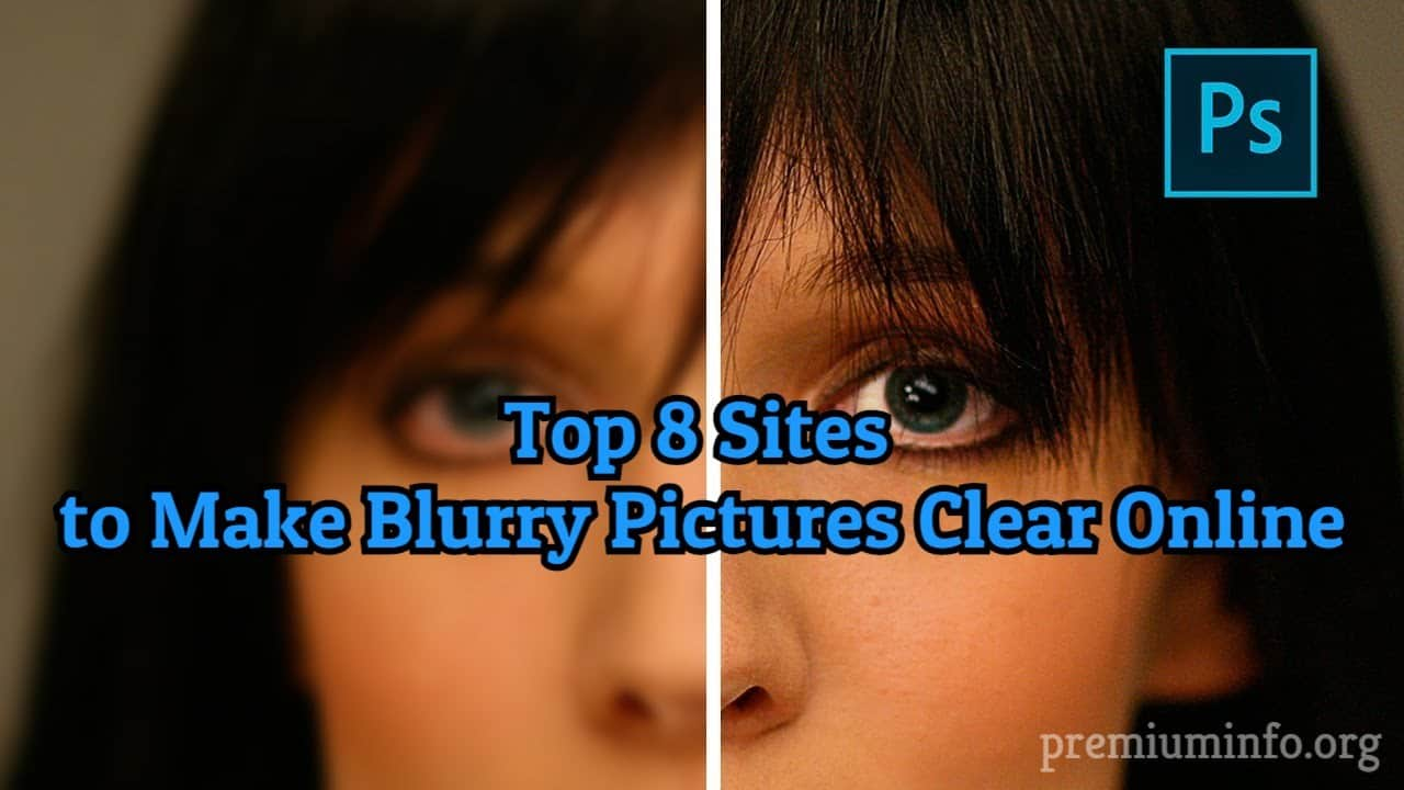 How To Make Blurry Image Clear