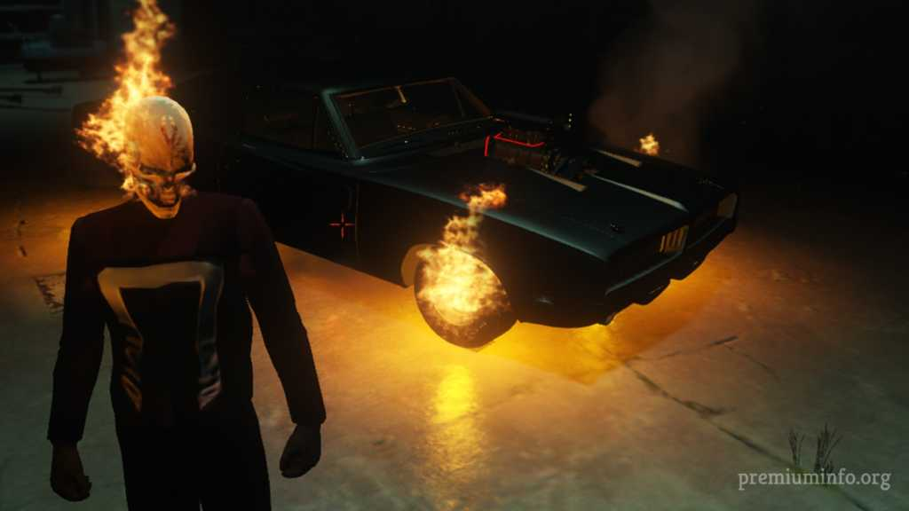 ghost rider mod for gta 5
