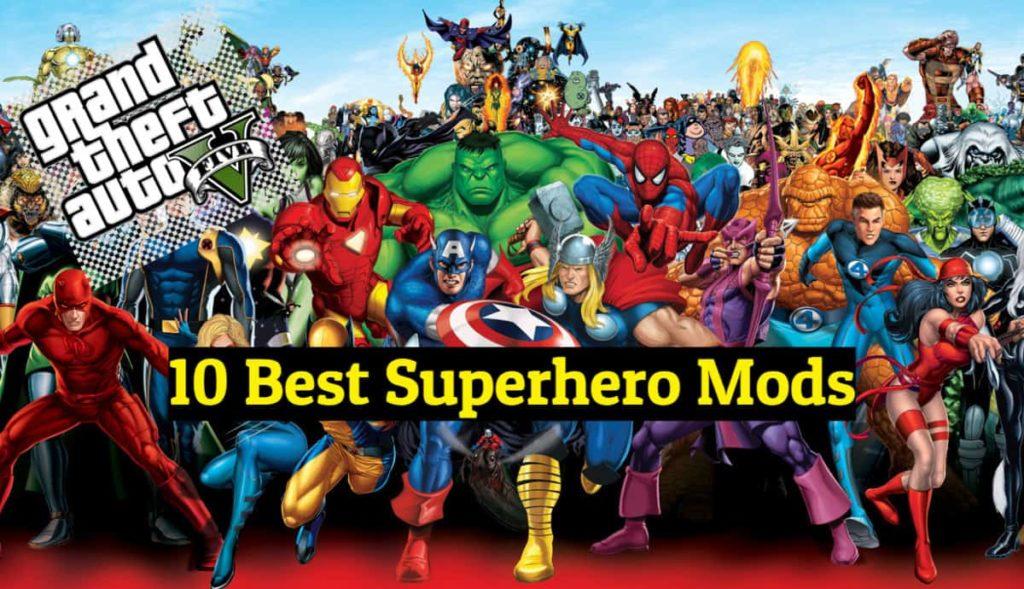 best superhero mods for gta 5 pc