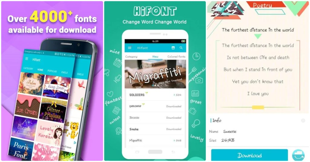 hifont best font changer for android