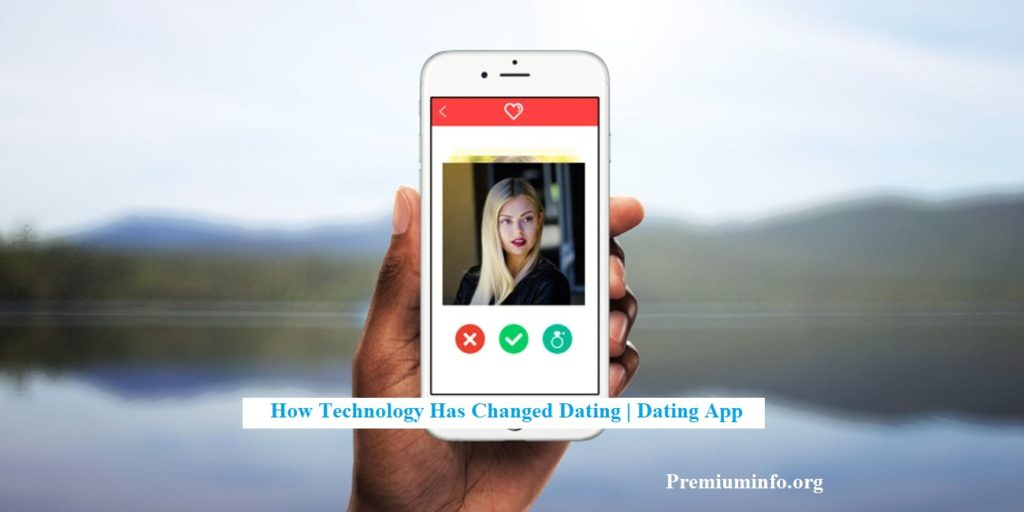 technology on dating app