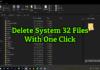 delete system 32 files