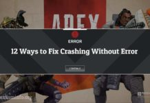 fix Apex Legends Error