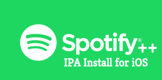 download and install spotify++ IPA for iPhone