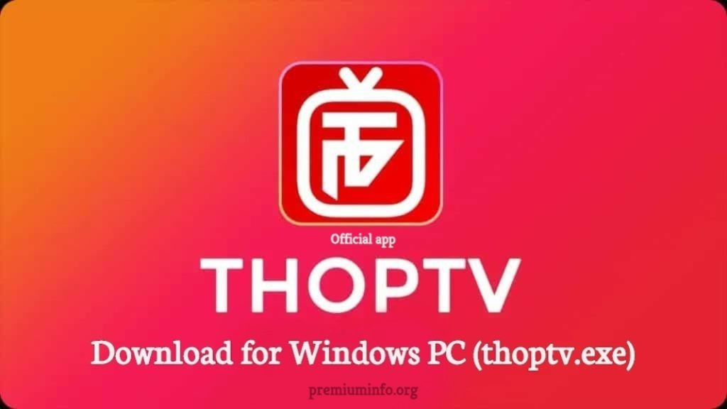 how to install thop tv for windows