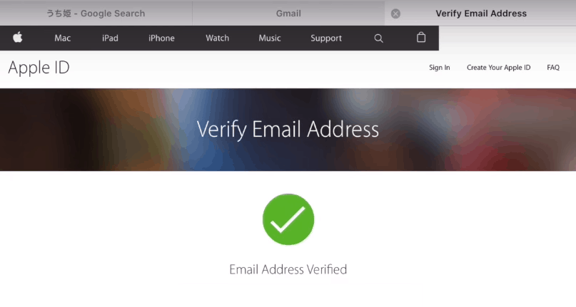 verify apple id
