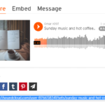 Copy link from SoundCloud