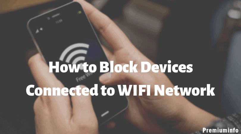 Block Devices Connected to WiFiNetwork