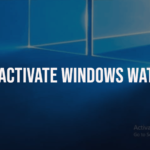 Remove activated windows watermark