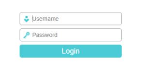 login tp link