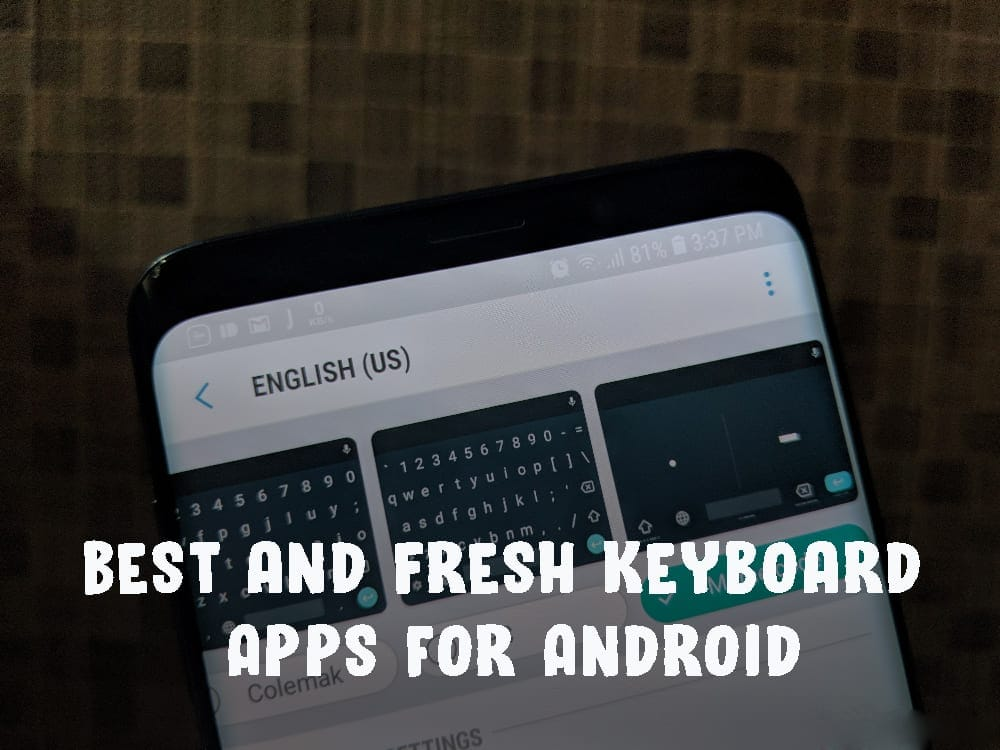 Fresh Keyboard Apps for Android