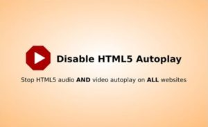disable html 5