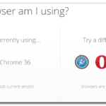 try another browser