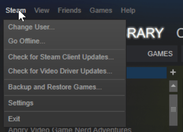 steam check for update