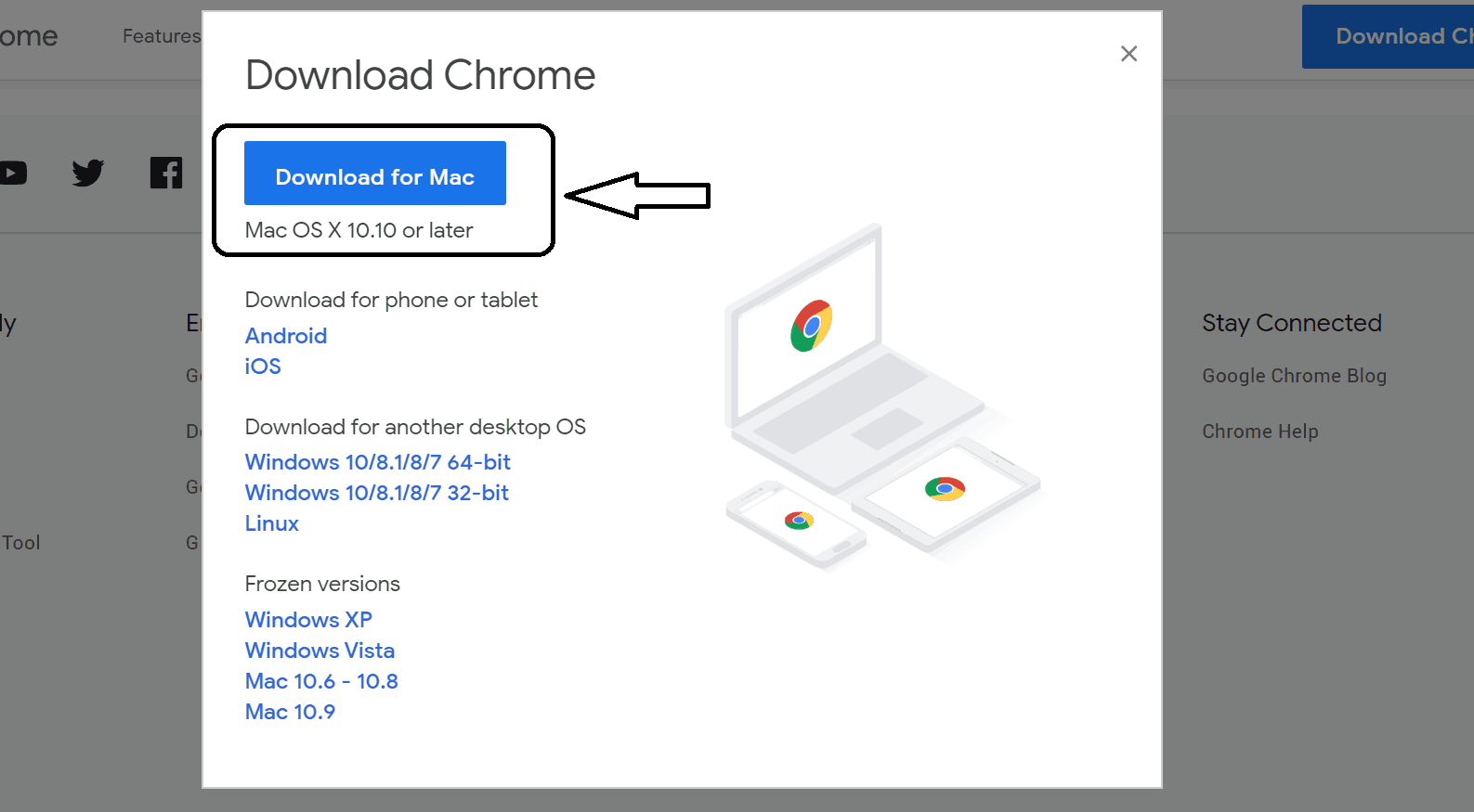 Download and install chrome 9 for mac latest