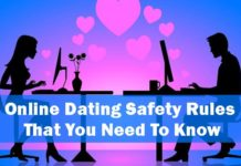 online dating safety rules