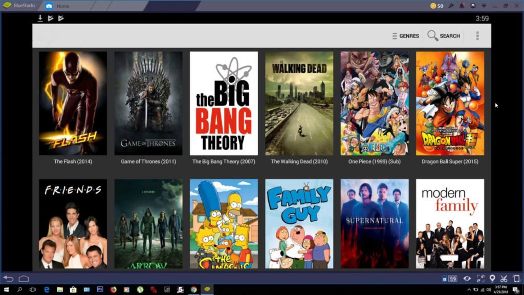 cinema apk windows
