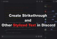 Create Strikethrough and Other Stylized Text in Discord