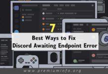Fix Discord Awaiting Endpoint Error
